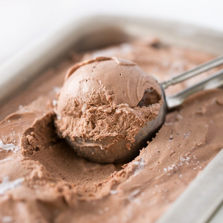 No-Churn Chocolate Ice Cream