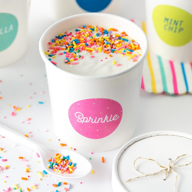 How To Make Printable Ice Cream Labels