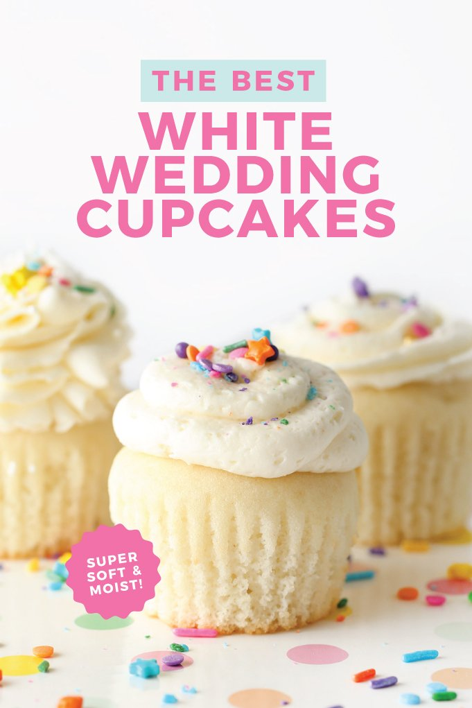 The Best White Wedding Cupcakes