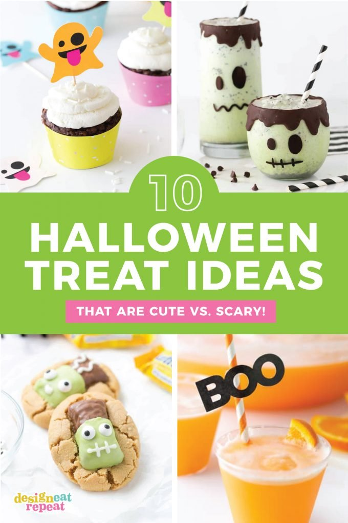 10 Easy Halloween Treats that are cute and not scary!