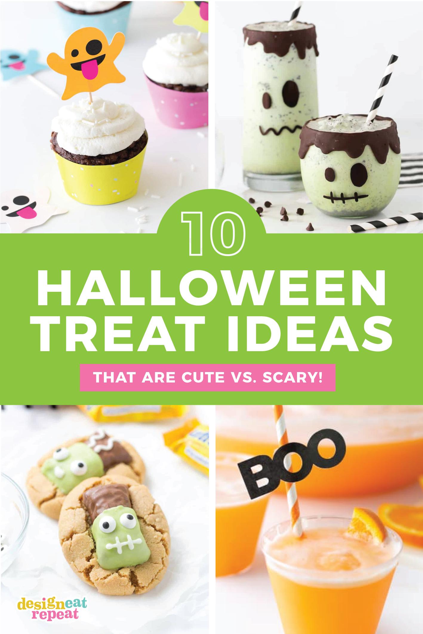 10 Cute & Easy Halloween Treats