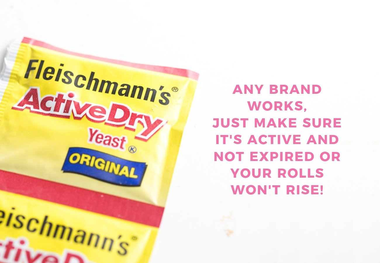 Packet of Fleischmann's Active Dry Yeast