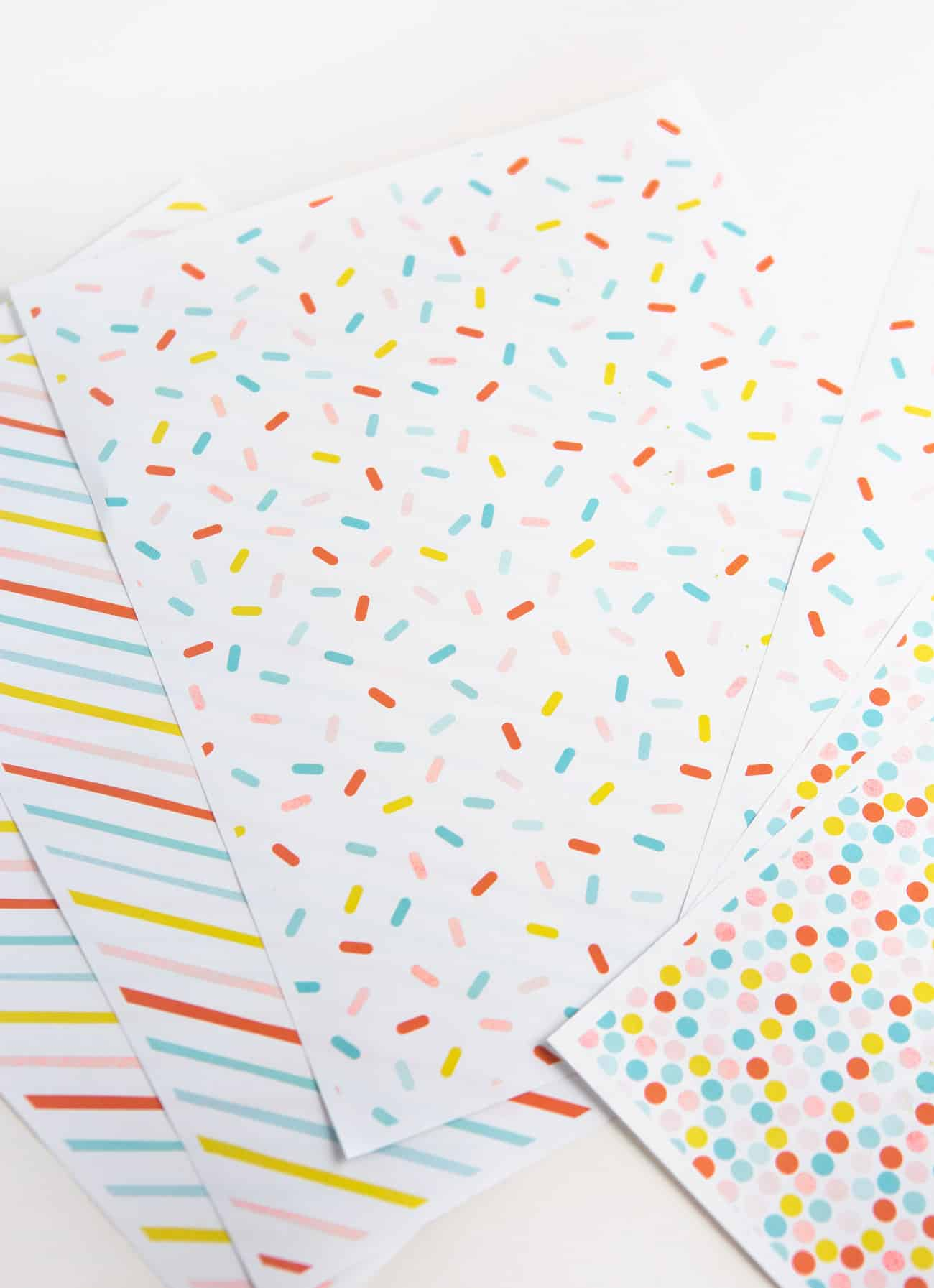 photograph relating to Free Printable Wrapping Paper referred to as Birthday Printable Wrapping Paper - Style Take in Repeat
