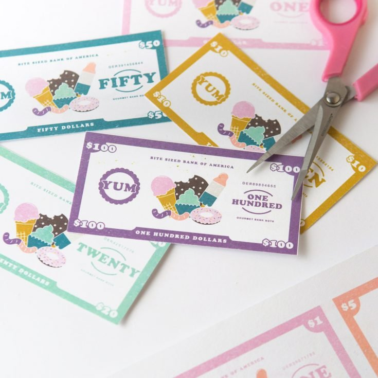 Free Printable Play Money for Kids
