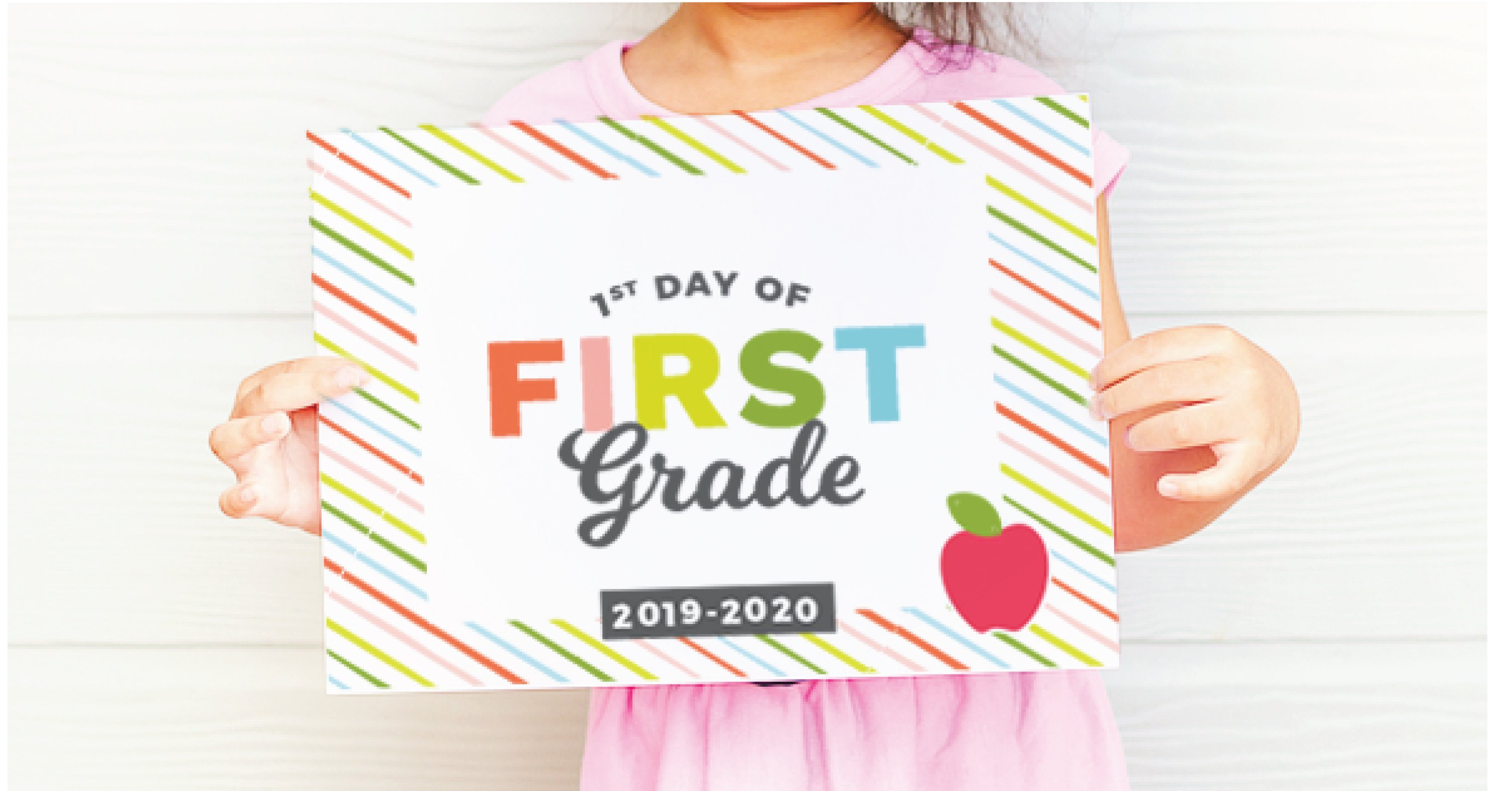 picture regarding First Day of Kindergarten Sign Printable titled Printable Again toward College or university Signs and symptoms - Structure Take in Repeat