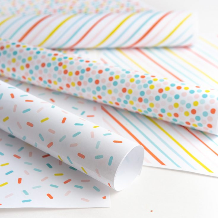 How to Make Birthday Printable Wrapping Paper