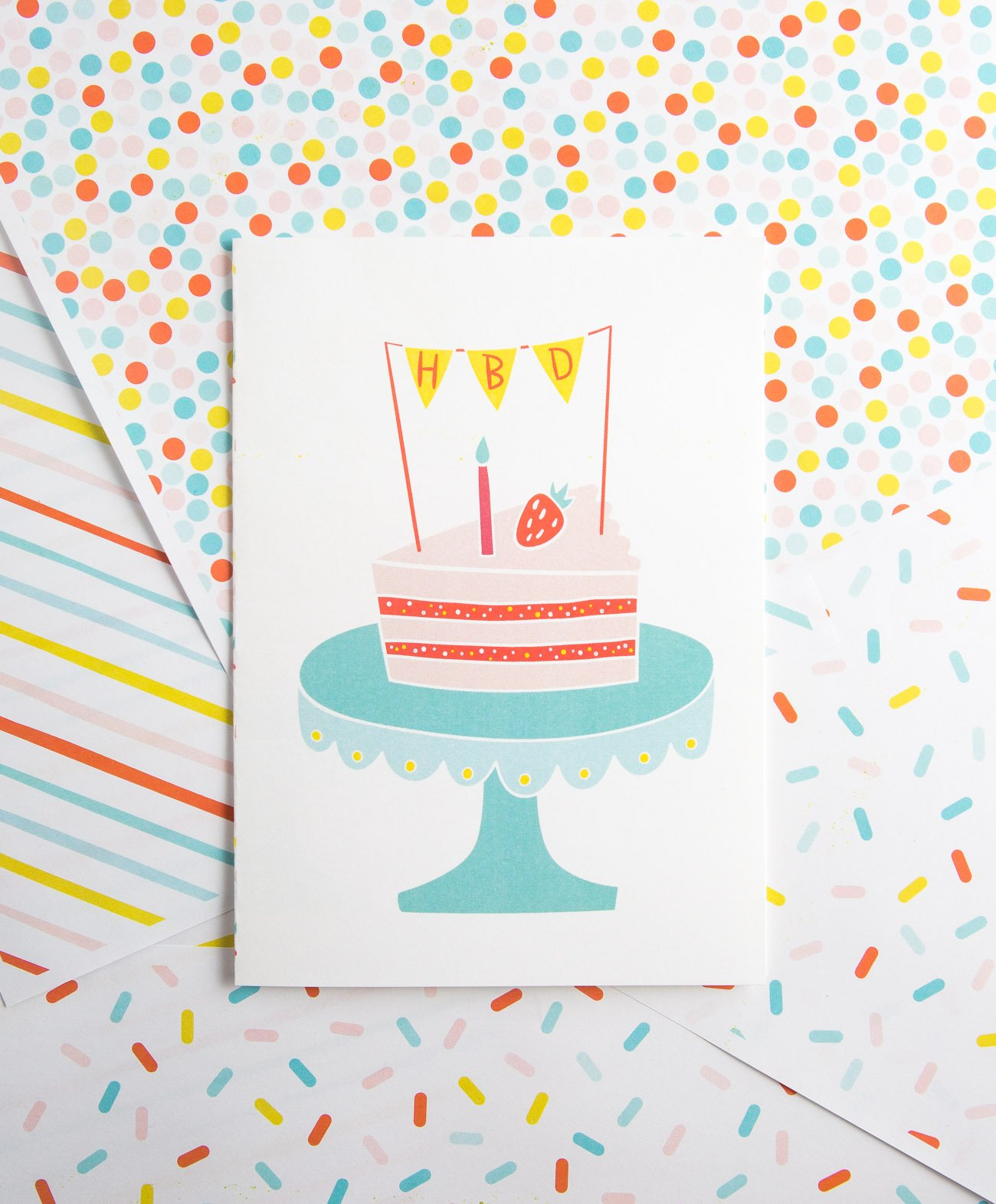 picture relating to Free Printable Birthday Cards for Boys named No cost Printable Cake Birthday Card - Structure Consume Repeat