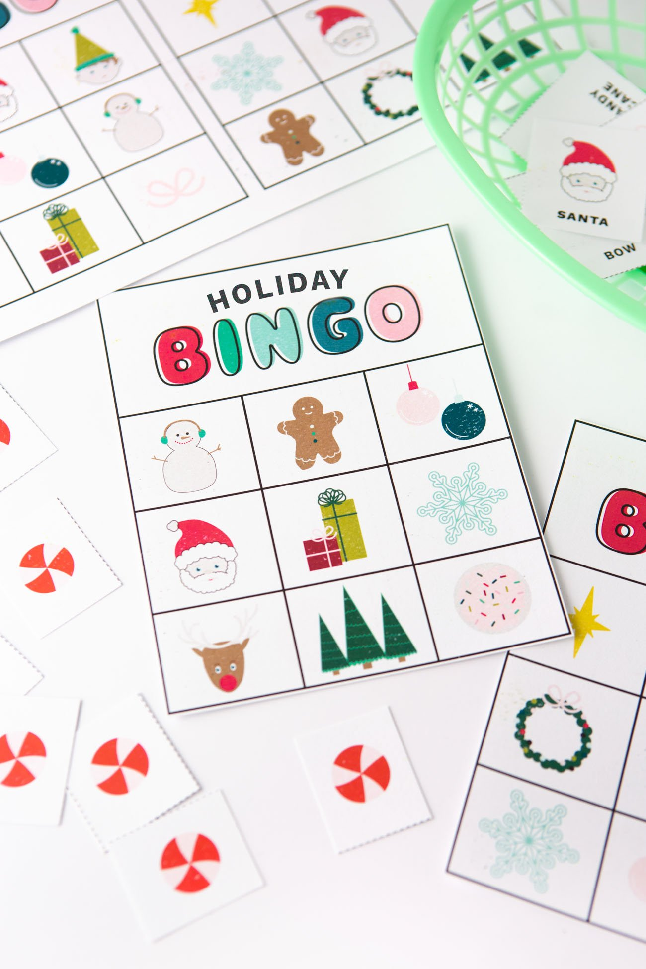 graphic about Holiday Bingo Printable identify Absolutely free Printable Xmas Bingo Playing cards - Style and design Try to eat Repeat