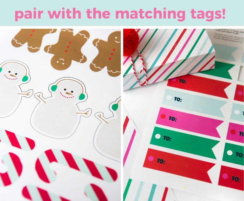 photograph regarding Free Printable Christmas Paper identified as Xmas Printable Wrapping Paper - Structure Take in Repeat