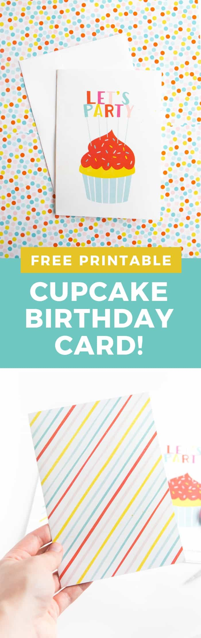Print off this adorable FREE printable birthday card to help celebrate any occasion! Works great for a last-minute birthday card, bachelorette party, or any celebratory occasion!
