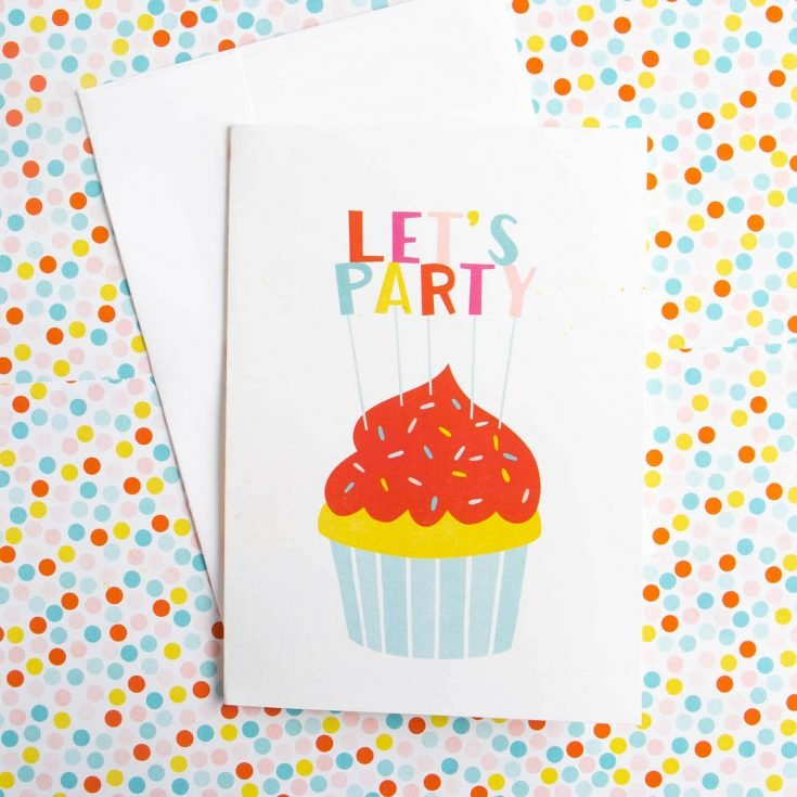 Cupcake Printable Birthday Card