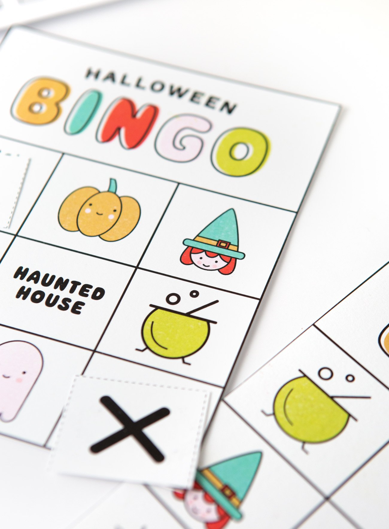 photo regarding Printable Halloween Bingo Card called Totally free Printable Halloween Bingo Playing cards - Layout Take in Repeat