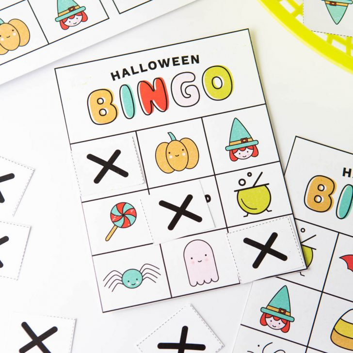 graphic regarding 25 Printable Halloween Bingo Cards titled Absolutely free Printables, Simple Recipes for Youngsters, Food items Paper