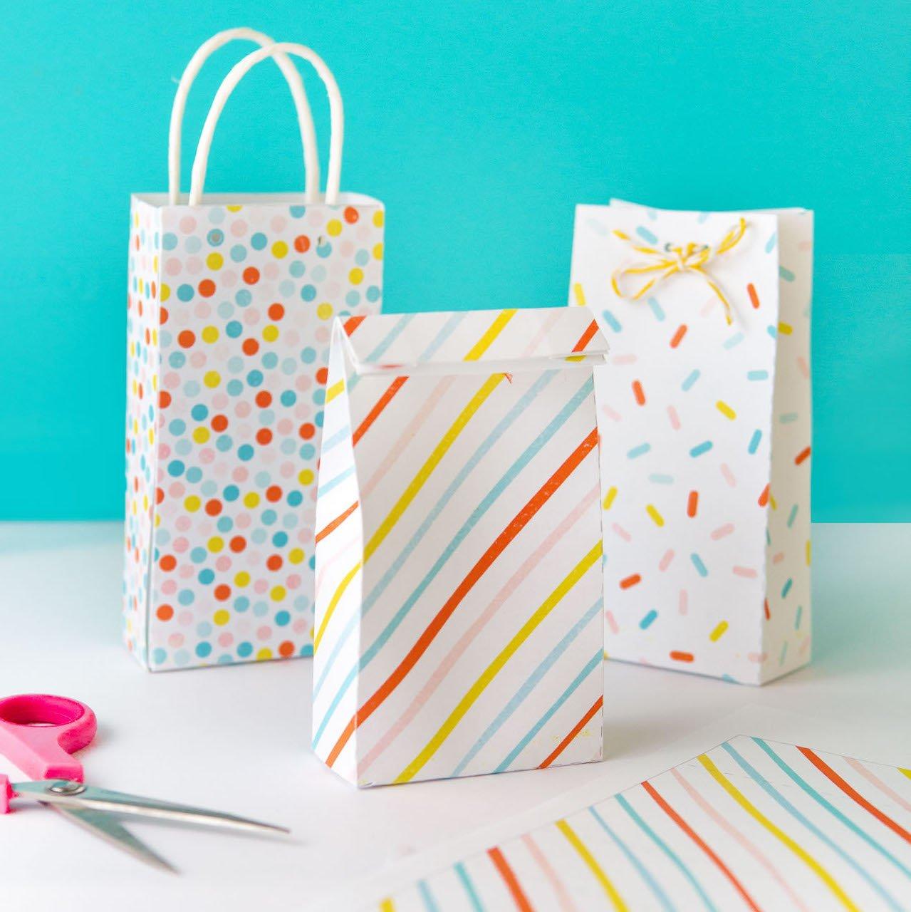 Printable Party Favor Bags Design Eat Repeat