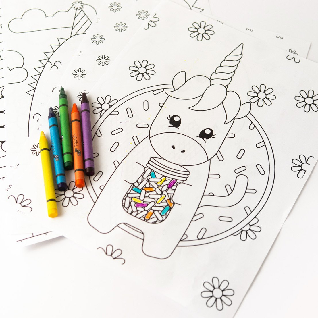 8 FREE Kids Coloring Pages - Design Eat Repeat