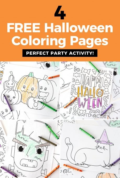Paw Patrol Halloween Party coloring page   Free Printable Coloring ...   680x458