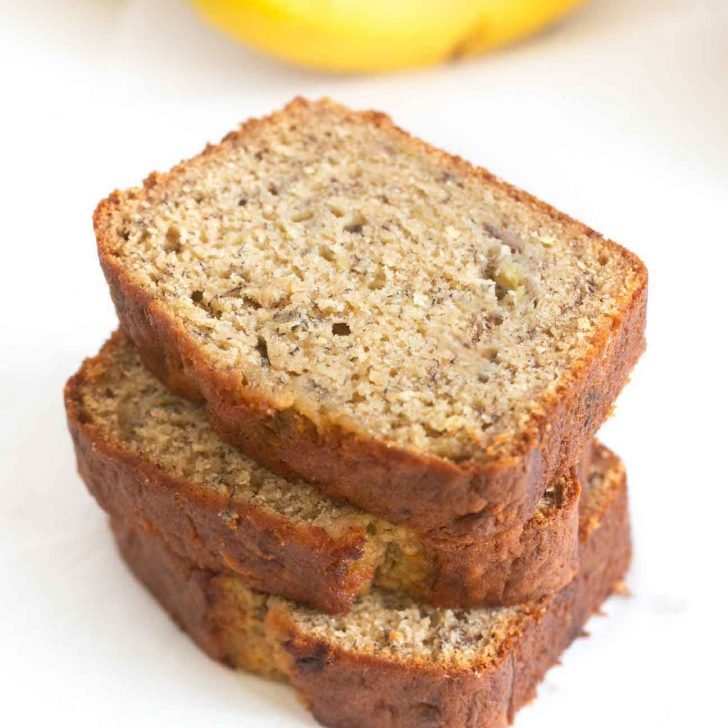 The Ultimate Moist Banana Bread