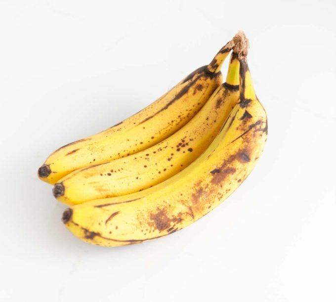 Ripe brown bananas