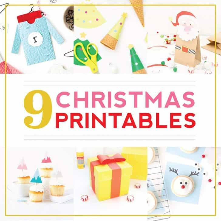 9 Free Christmas Printables!