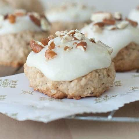 Cream Cheese Pecan Cookies Recipe — Dishmaps