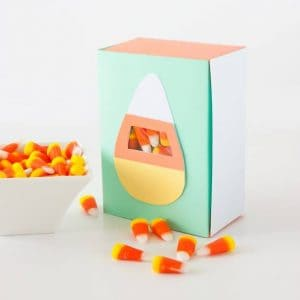 Candy Corn Treat Box by Design Eat Repeat