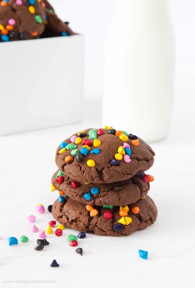 Cosmic Brownie Cookies | by Design Eat Repeat