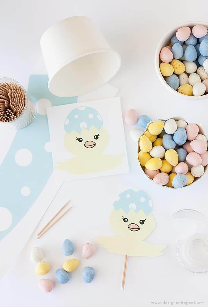 DIY Easter Egg Candy Cups | Get the Tutorial & Printable at Design Eat Repeat