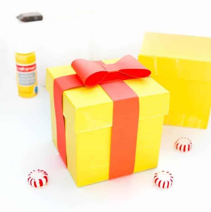 DIY Emoji Gift Boxes