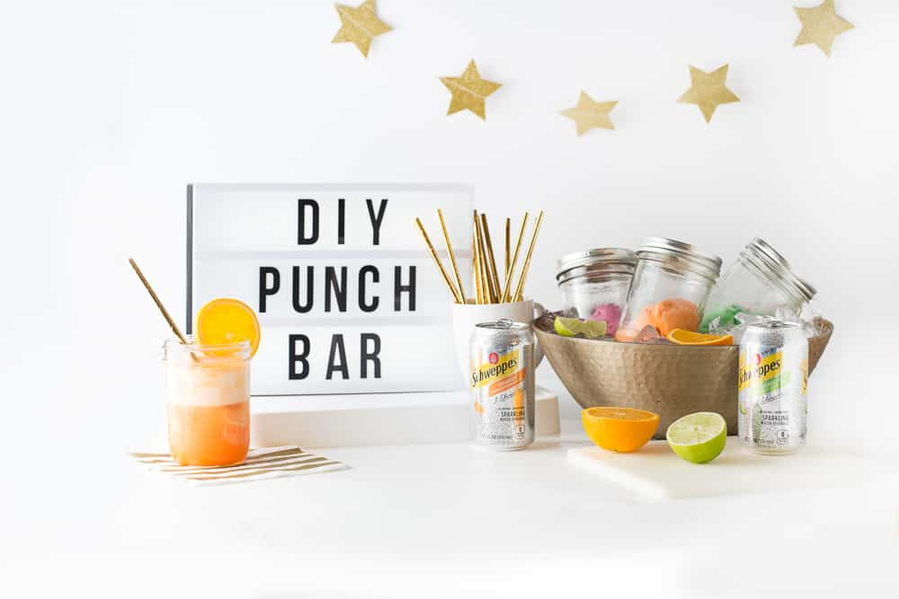 Learn how to put together an easy and fun DIY punch bar!