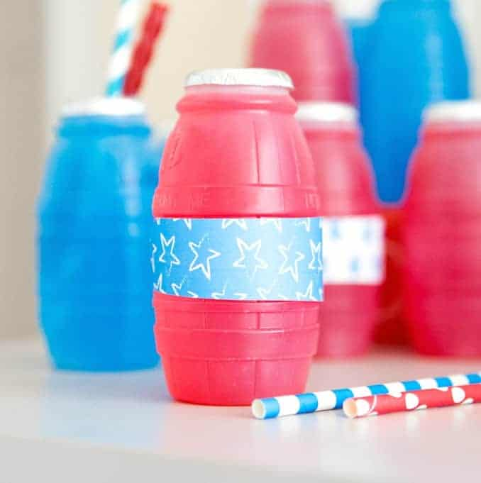 Fourth of July Treat Bar + Free Printables