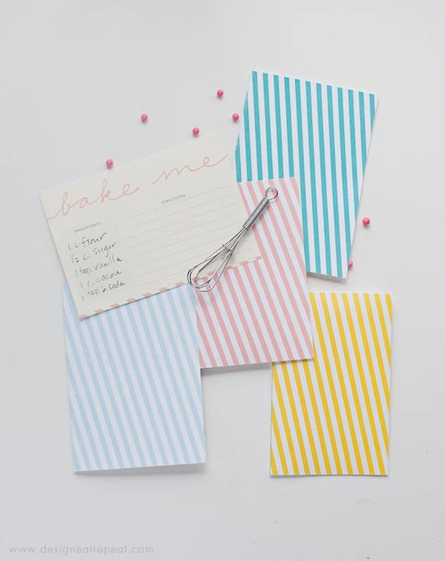 Free Note Card Printable from Design Eat Repeat