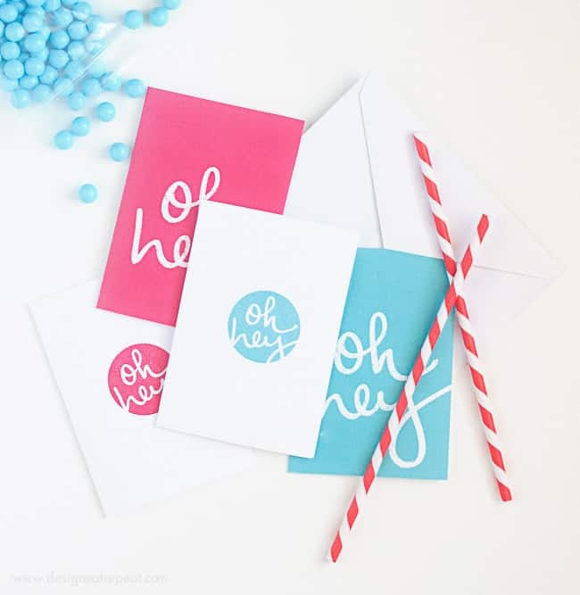 free printable note cards by design eat repeat1 - Printable Note Cards