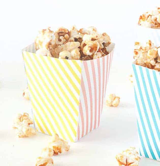 Free Printable Popcorn Box Template