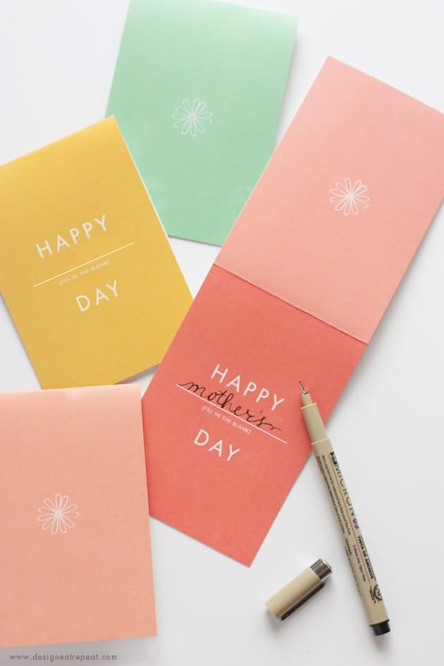 Happy Anything Card - Free Printable that can be used for Birthdays, Mothers Day, and more