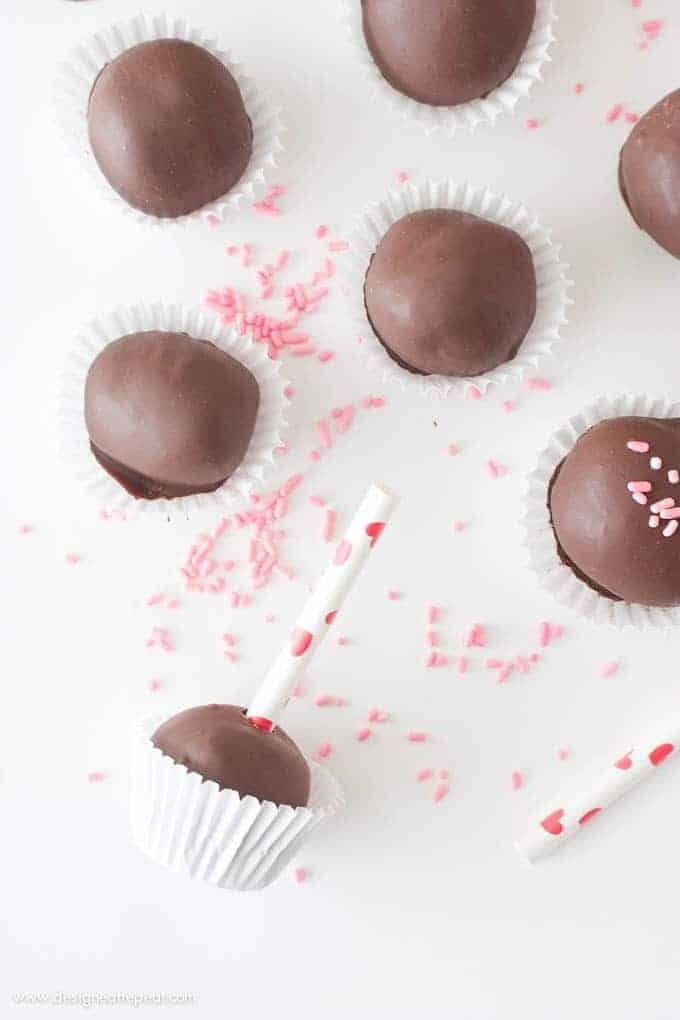 Homemade Chocolate Truffles   Design Eat Repeat