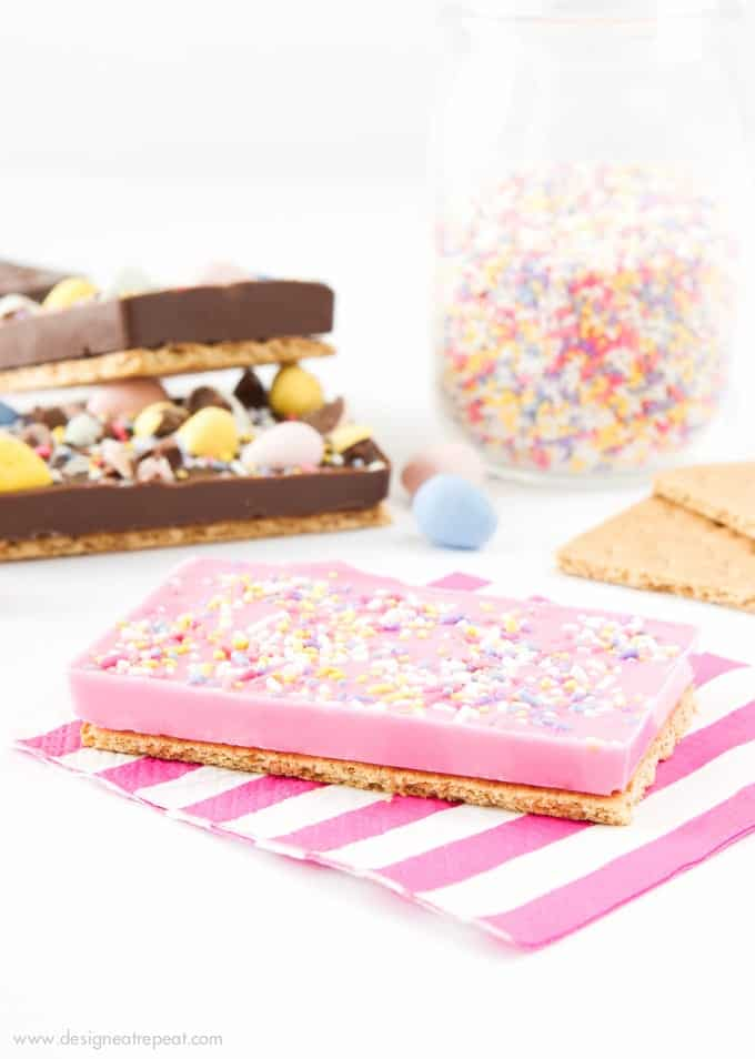 Homemade Easter Candy Bars