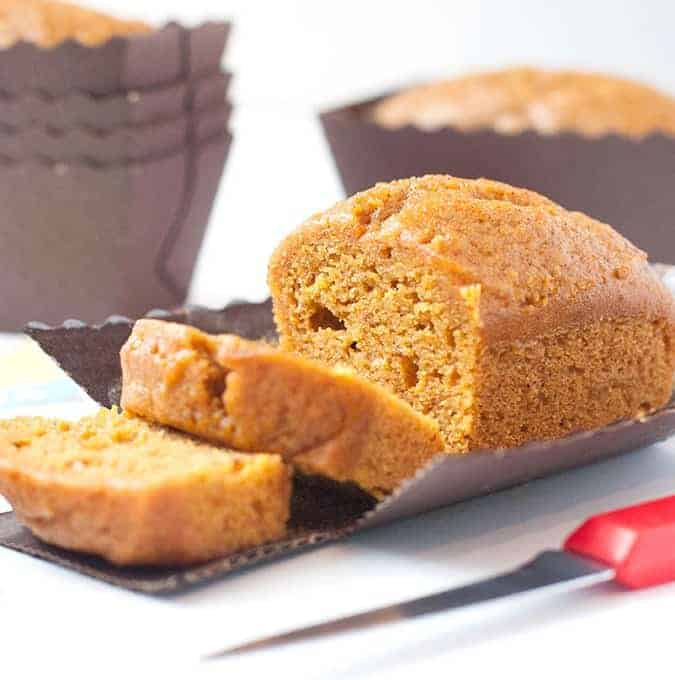 Pumpkin Bread Mini Loaf Pan Recipe (with Free Gift Tags!)