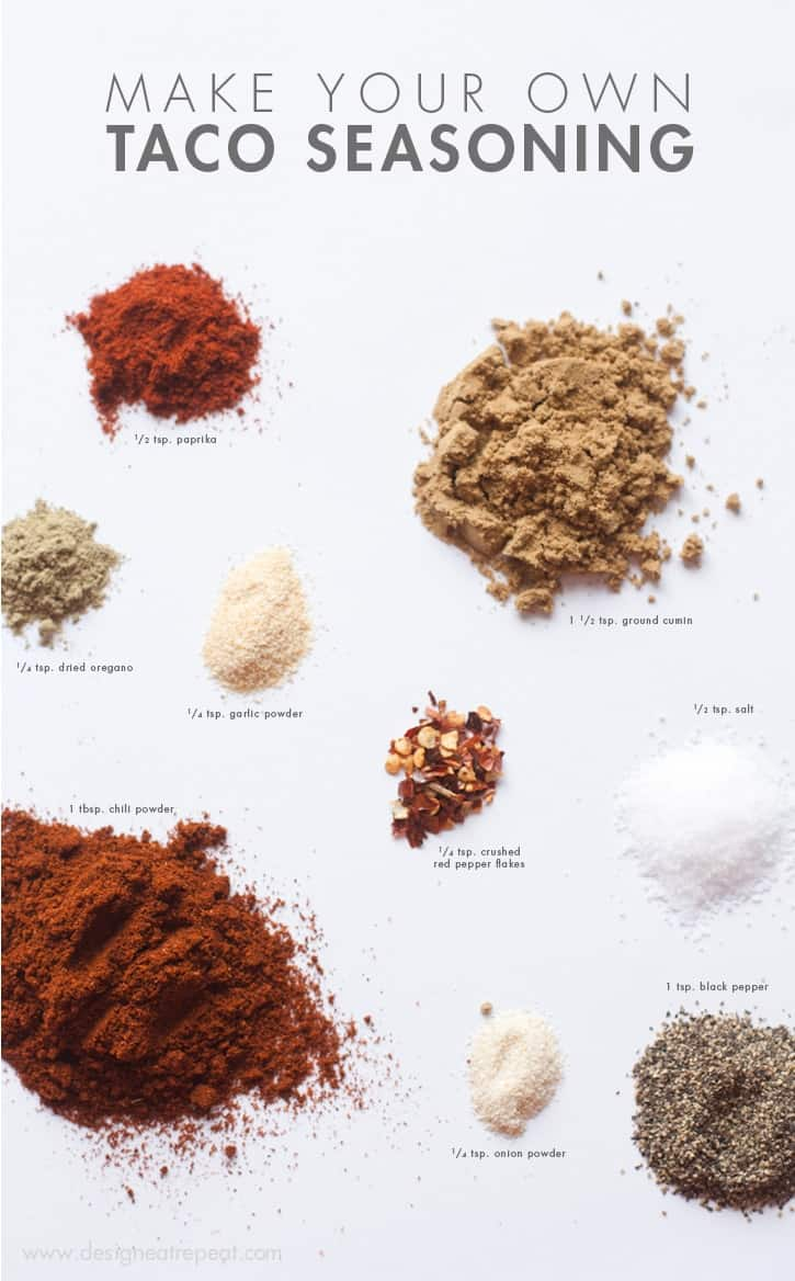 Homemade Taco Seasoning_DIY