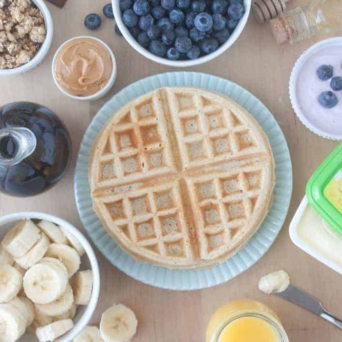 Build Your Own Waffle Bar