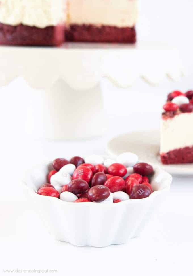 Red Velvet Frozen Cheesecake