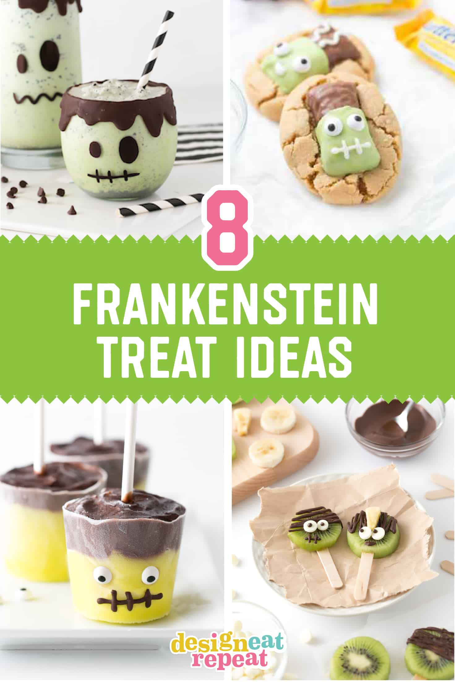 8 Adorable & Easy Frankenstein Treats