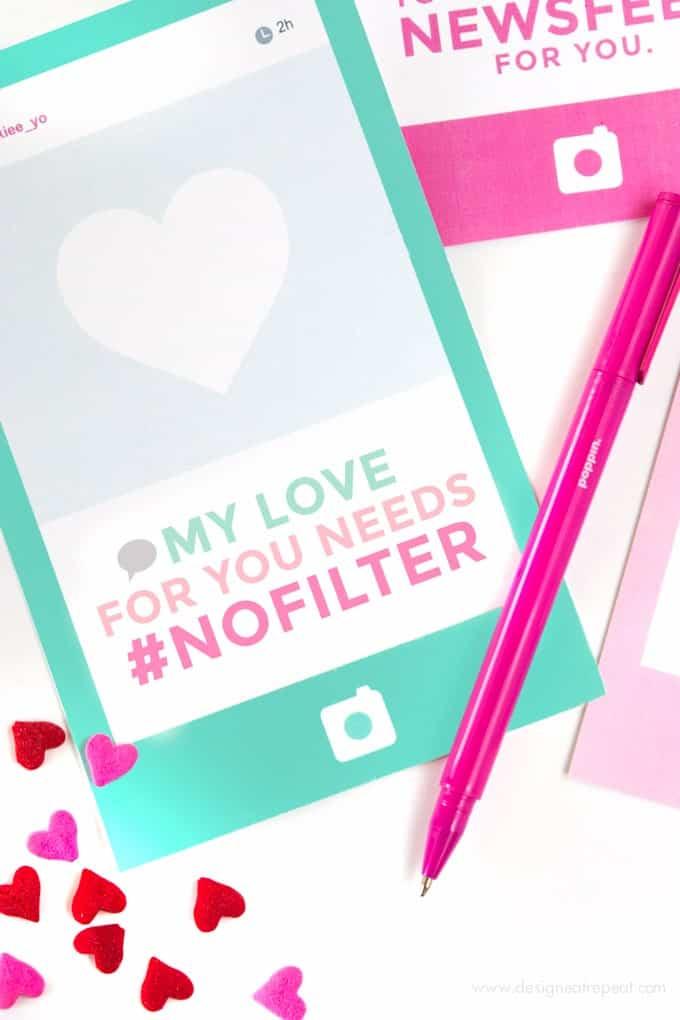 instagram free printable valentines day cards