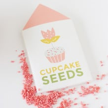 How to Grow a Cupcake Printables