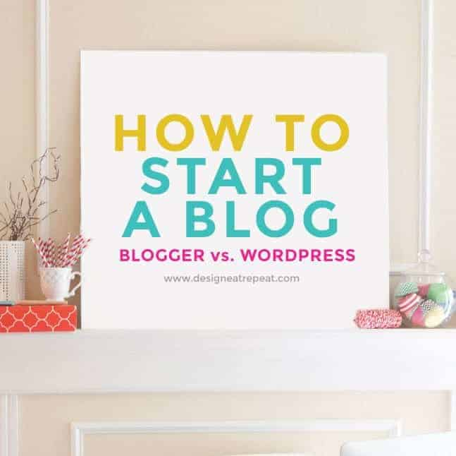 How to Start A Blog Series: Blogger vs. WordPress