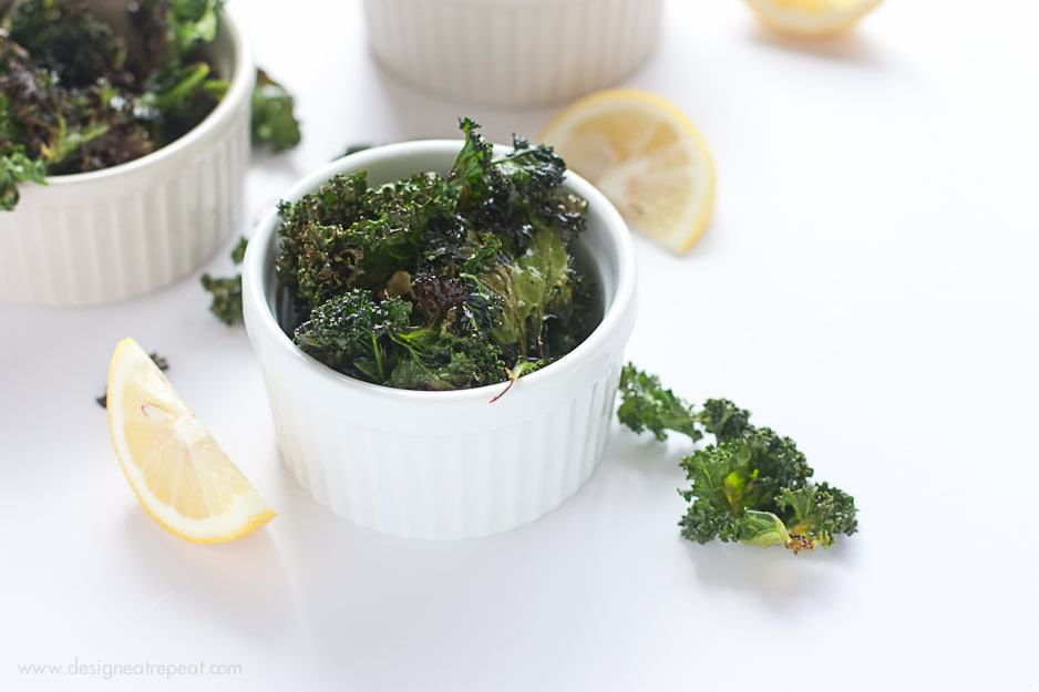 Garlic and Lemon Kale Chips