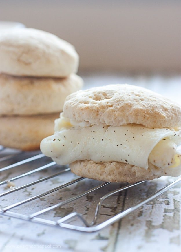 Light Homemade Biscuits from Design Eat Repeat blog