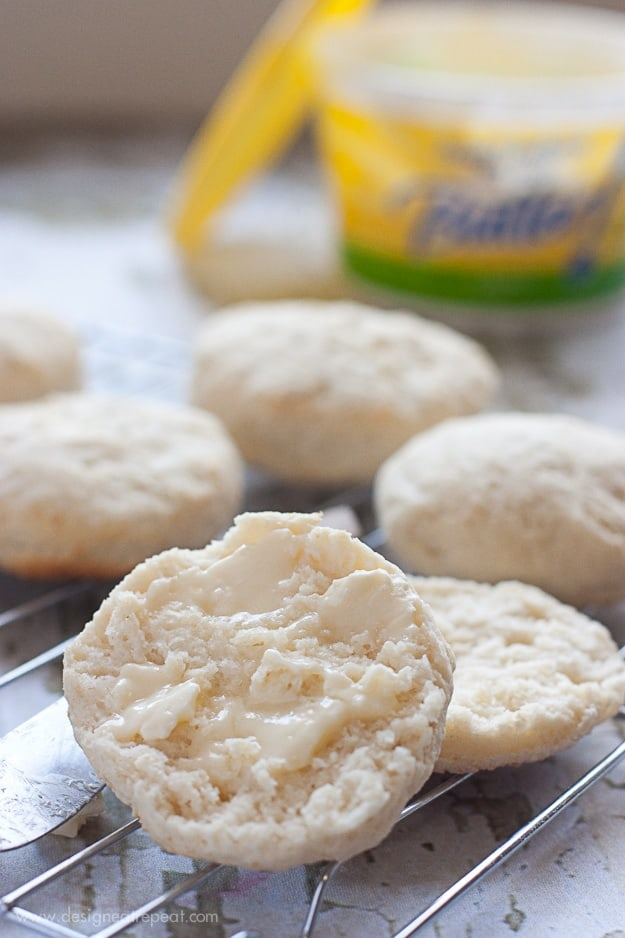 Light Homemade Biscuits from Design Eat Repeat