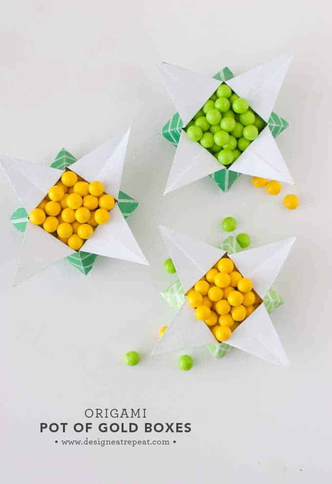 Pot Of Gold Origami Star Box