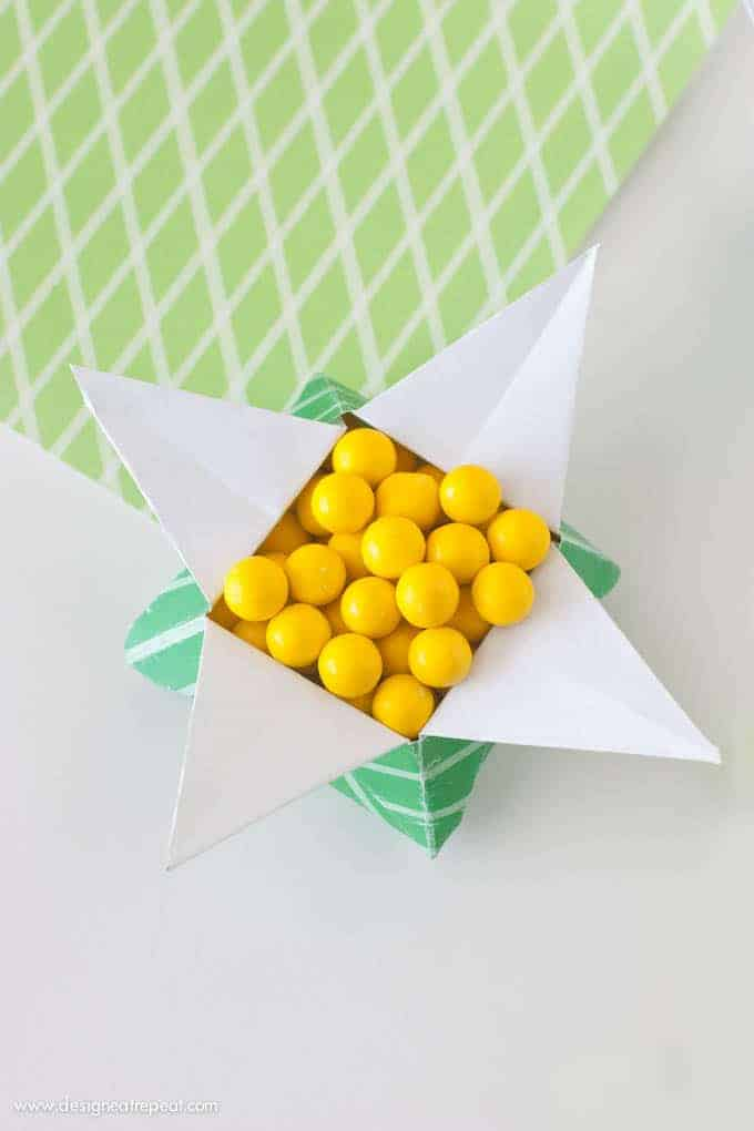 16 Points Star Vase - Origami Star candy box - Bowl - Easter ... | 1020x680