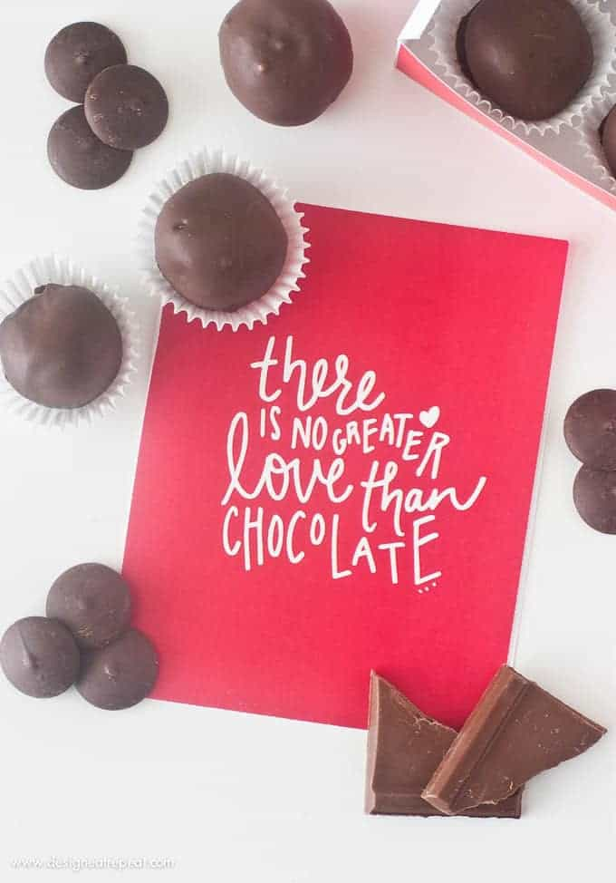 Make homemade chocolate truffles with this simple recipe from Design Eat Repeat